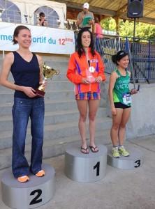 laura podium
